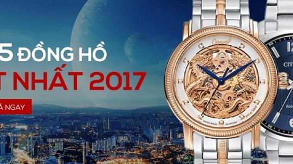 """Top 5 đồng hồ giá từ thấp đến cao """"hot"""" nhất năm 2017"""