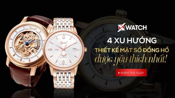 4 xu hướng thiết kế mặt số đồng hồ được yêu thích nhất