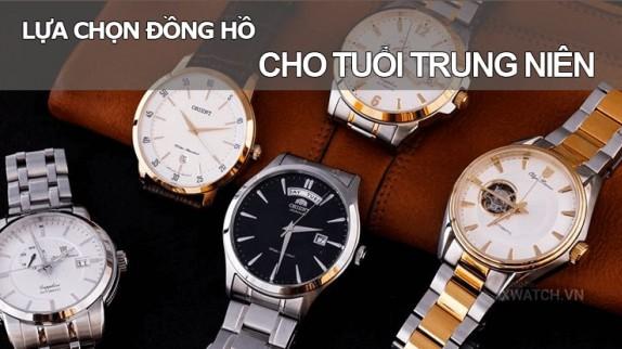 Khám phá 3 mẫu đồng hồ cho người trung niên sang trọng và lịch lãm