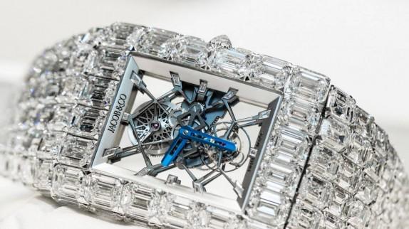 Chiêm ngưỡng TOP 10 đồng hồ nạm kim cương đẹp nhất hành tinh