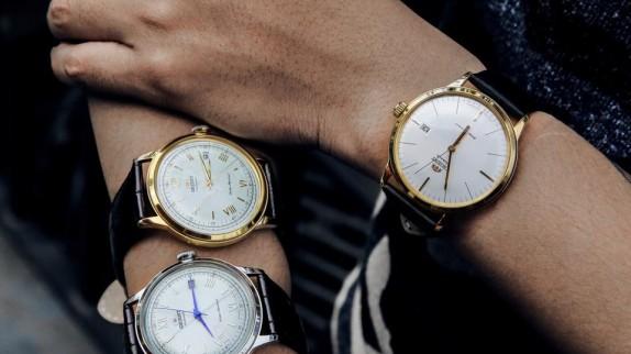 Bộ sưu tập 5 mẫu đồng hồ nam dây da ấn tượng