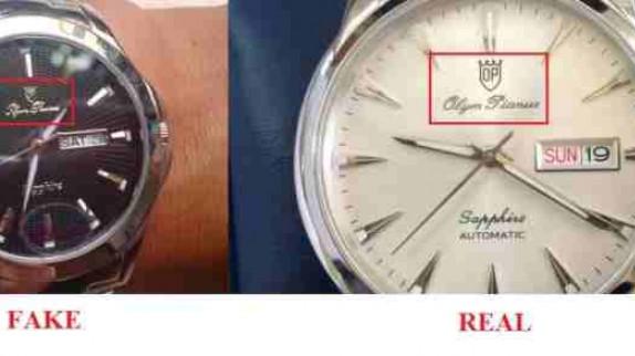 Bóc trần sự thật về đồng hồ Olym Pianus 6357G