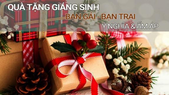 Gợi ý 44 món quà tặng Noel ý nghĩa, ấm áp cho bạn gái, bạn trai
