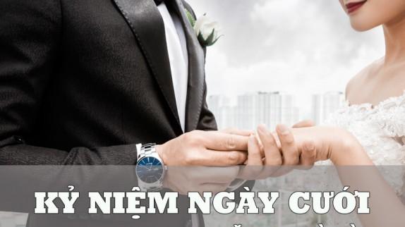 Ra mà xem nhà người ta chọn quà kỷ niệm ngày cưới này!
