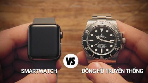 So sánh Smartwatch với đồng hồ truyền thống