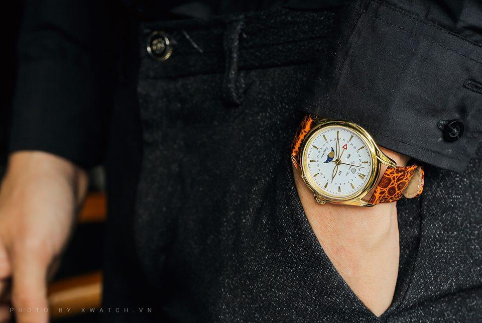 Tại sao nên chọn đồng hồ OP dây da thay vì dây hợp kim?