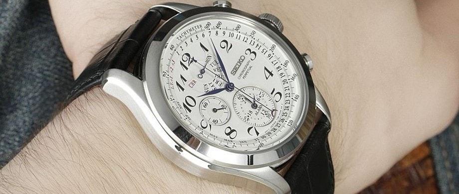3 mẫu đồng hồ Seiko Chronograph đình đám nhất tại Việt Nam