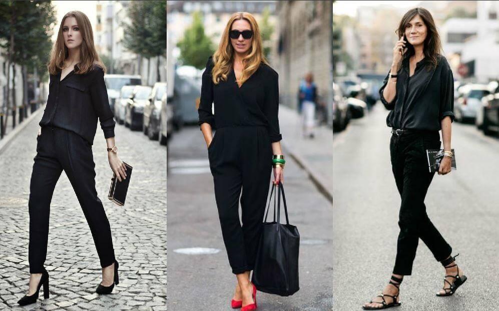 Tuyệt chiêu phối đồ với áo sơ mi đen nữ chất lừ từ Fashionita!