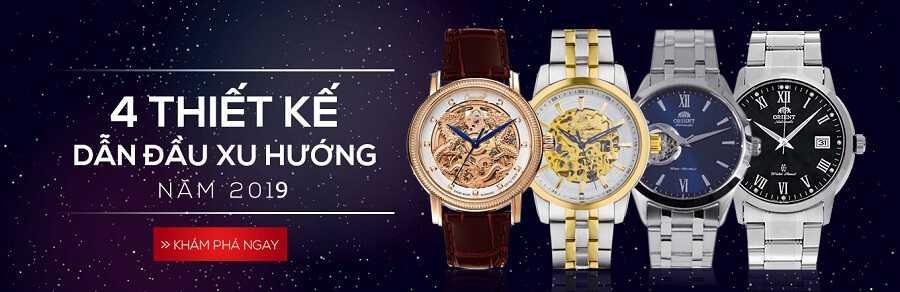 4 thiết kế đón đầu xu hướng đồng hồ năm 2019