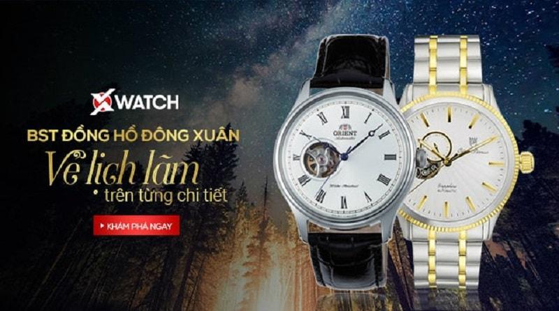 Bộ sưu tập đồng hồ Đông Xuân: Vẻ lịch lãm trên từng chi tiết