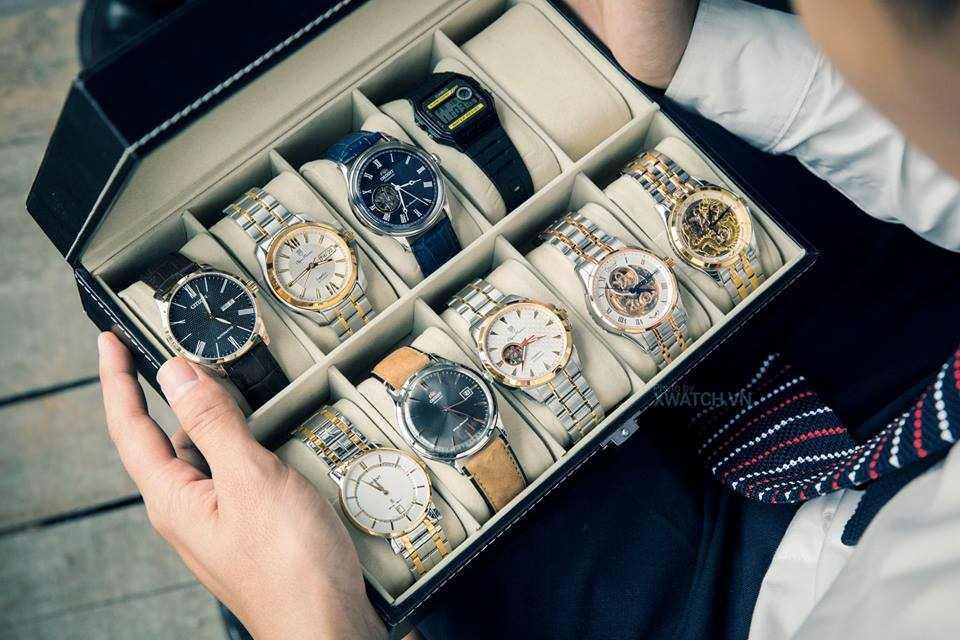 5 mẫu đồng hồ nam dây kim loại đẹp không thể bỏ qua