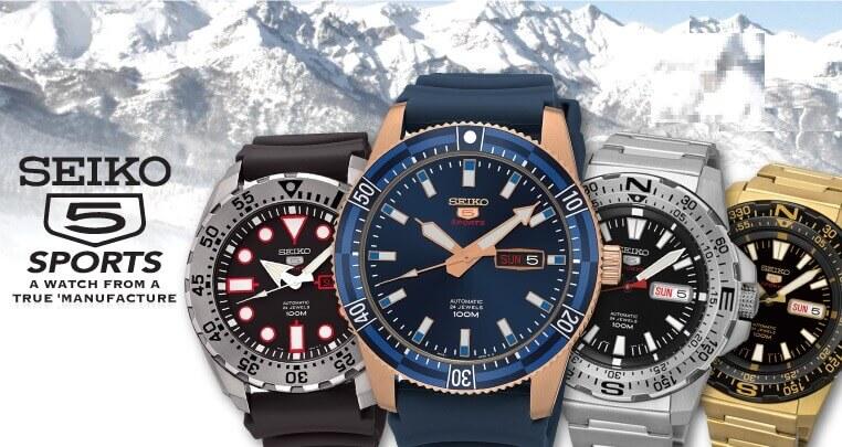 Khám phá 4 mẫu đồng hồ Seiko 5 Sports đẹp - độc - lạ