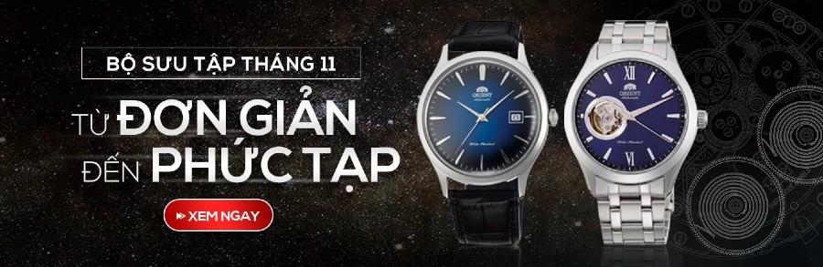 Bộ sưu tập đồng hồ tháng 11: Từ đơn giản đến phức tạp