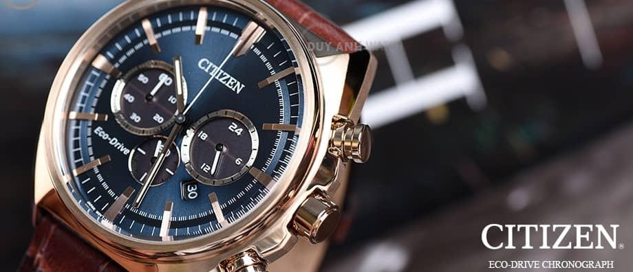 Nổi bật với đồng hồ Citizen Eco – Drive E11
