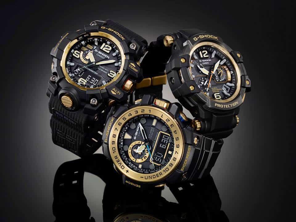 04 mẫu đồng hồ G Shock Black Gold HOT nhất hiện nay?