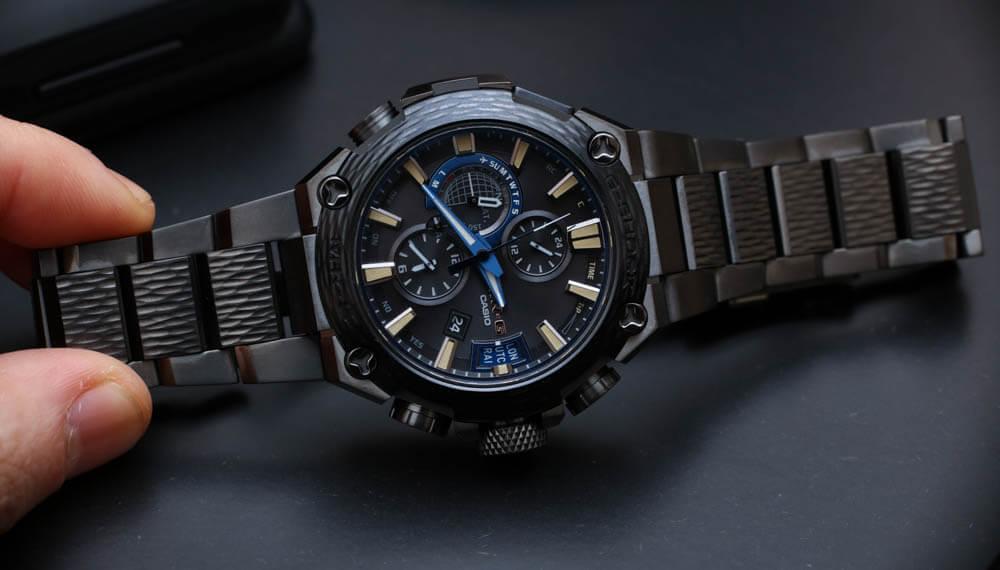 Khám phá mẫu đồng hồ Casio đắt nhất Hammer Tone MR-G