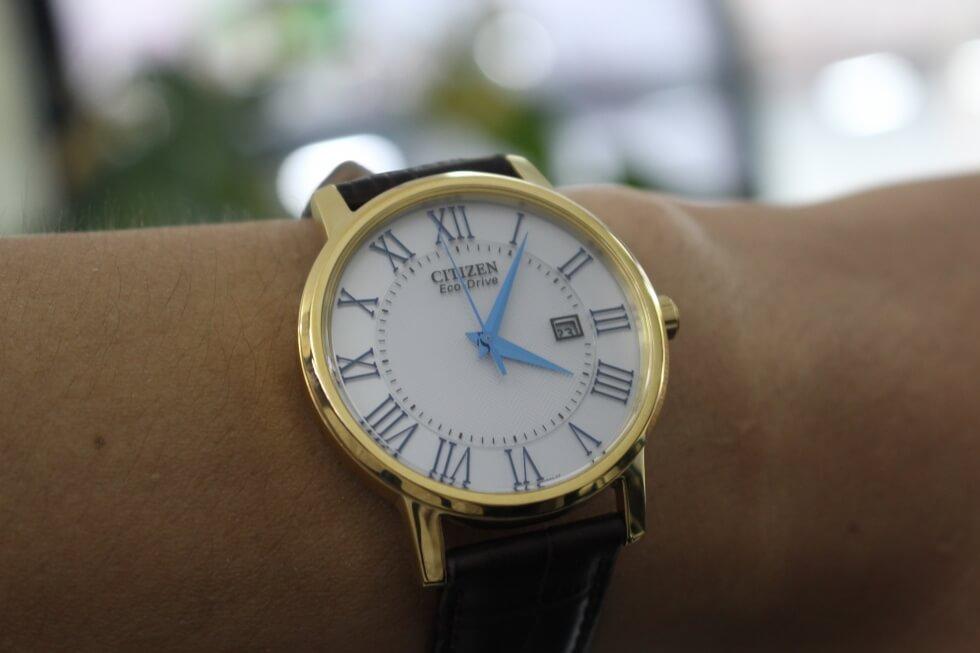 Bộ sưu tập đồng hồ Citizen Eco Drive dây da tầm giá 5 triệu