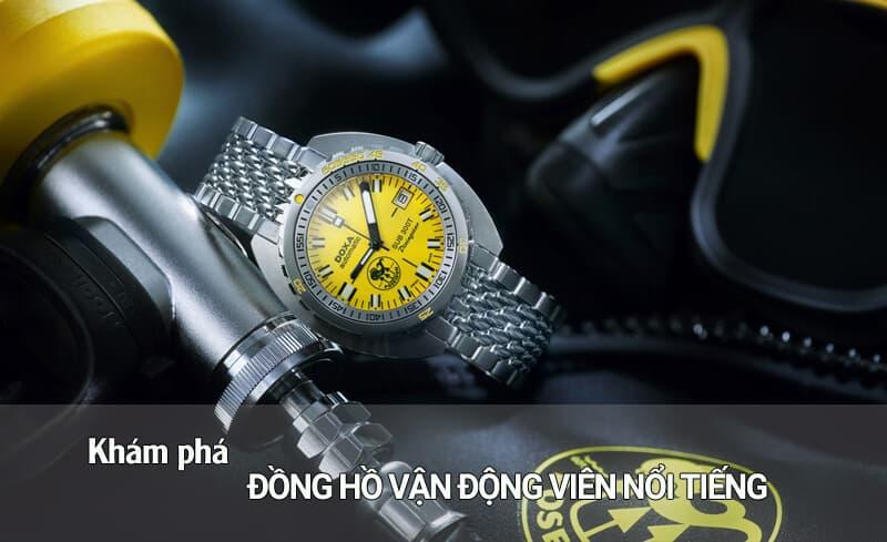 Khám phá đồng hồ của vận động viên nổi tiếng thế giới