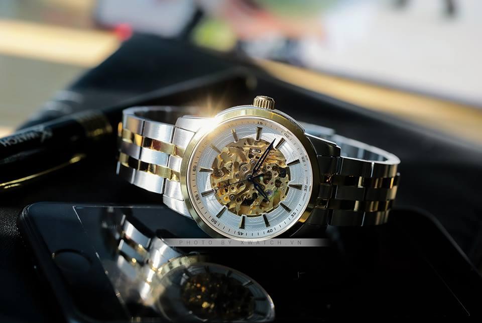 Đồng hồ mặt tròn - đồng hồ nam cho tay nhỏ