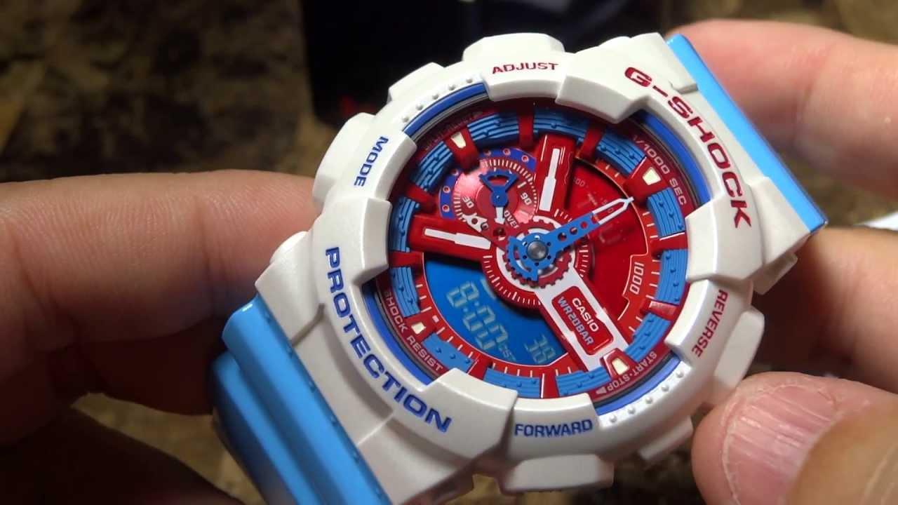 Casio G-Shock- Ông vua của dòng đồng hồ thể thao nam