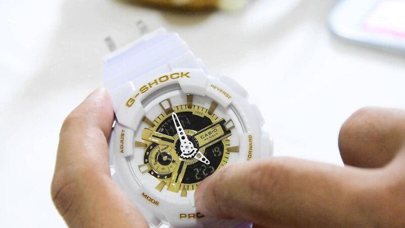 Tại sao giới trẻ thích chọn đồng hồ G shock màu trắng?
