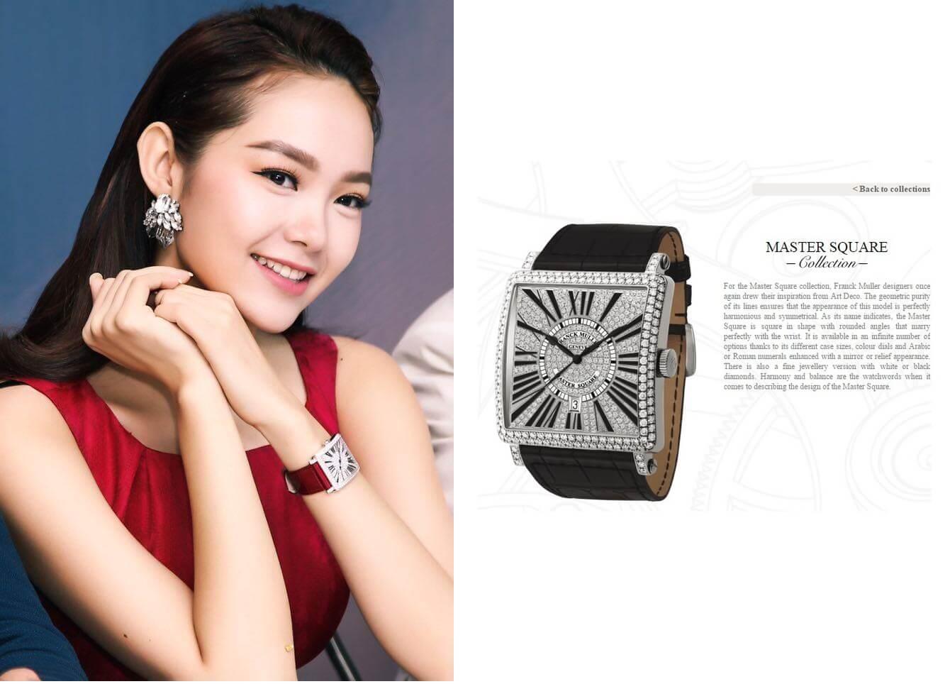 Nội chiến chốn thâm cung: mỹ nhân Việt đọ đồng hồ kim cương khiến ai cũng choáng