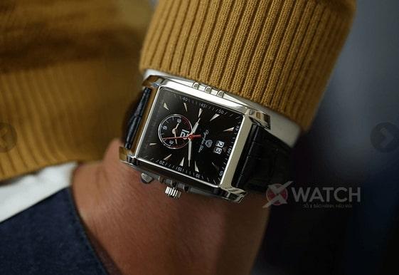 Có nên đeo đồng hồ nam mặt chữ nhật dây da?