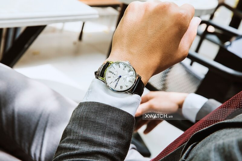 """Đồng hồ nam size 36 - """" Vũ khí bí mật"""" của quý ông tay nhỏ"""