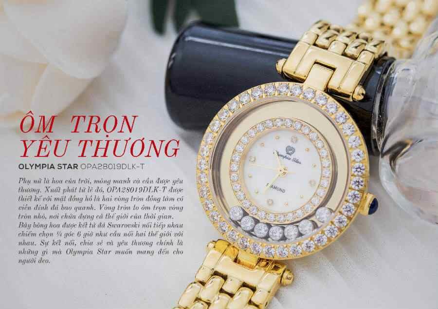 Tại sao đồng hồ quartz nữ giá rẻ lại được phái đẹp yêu thích?