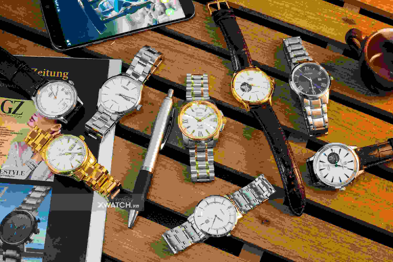 Bộ sưu tập đồng hồ cơ CHẤT bán chạy nhất 2018