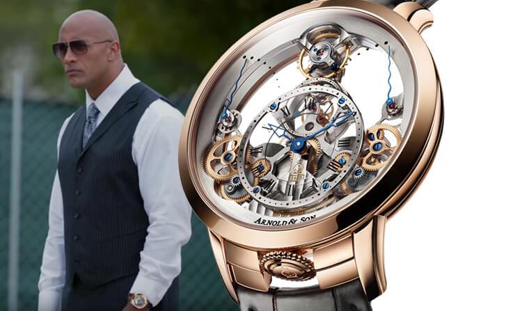 Bật mí đồng hồ của 5 sao Hollywood nổi tiếng thế giới