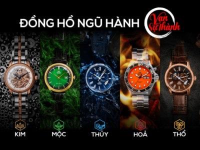 Bí quyết chọn đồng hồ đeo tay phong thủy