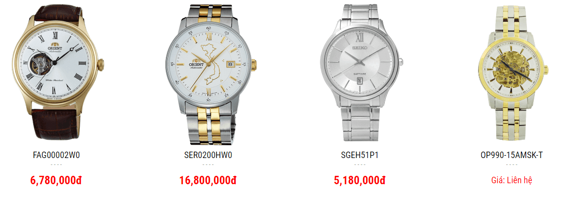 Mua đồng hồ nam Nha Trang online. Tại sao không?