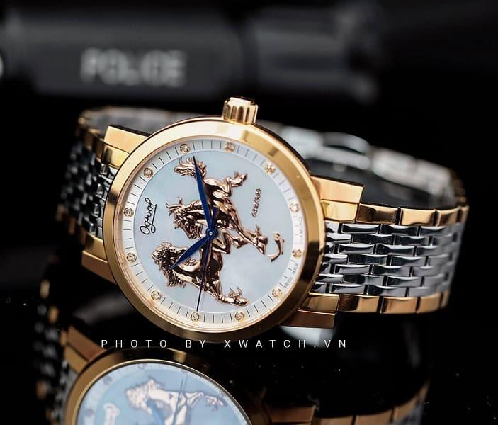 Đồng hồ đeo tay vàng 18k Ogival - Xu hướng thời trang 2018