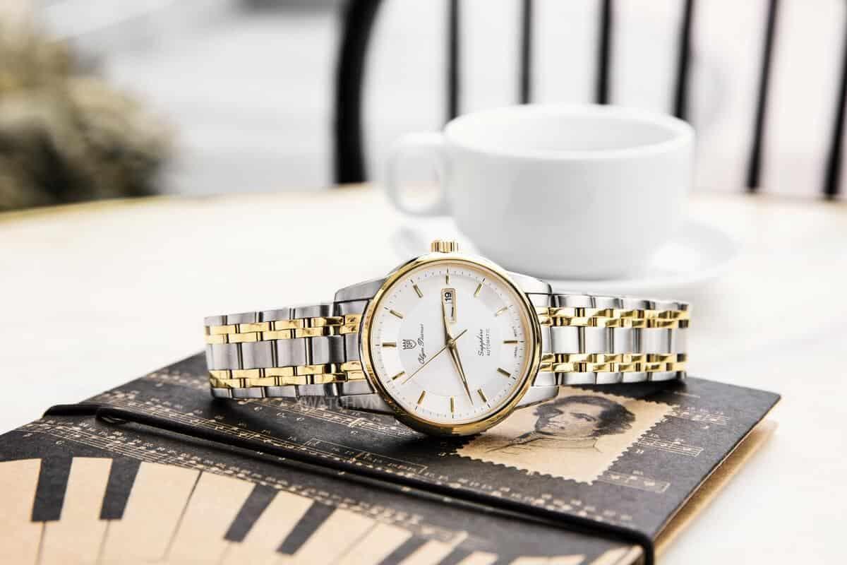 Top 3 mẫu đồng hồ cơ OP Olym Pianus chính hãng