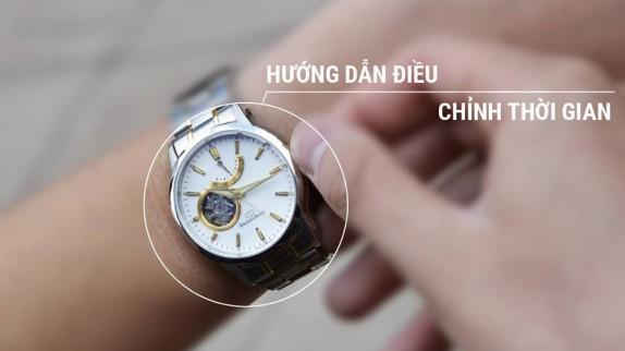 Nên chỉnh ngày - giờ cho đồng hồ cơ vào lúc nào để tránh hỏng máy?
