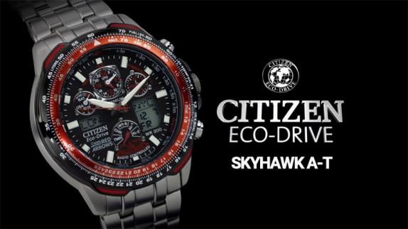 5 sự thật thú vị về đồng hồ Citizen SKYHAWK A-T