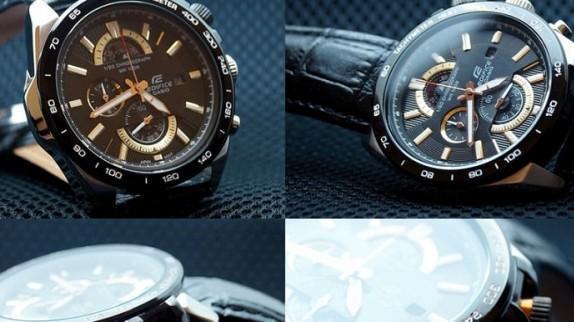 Đồng hồ casio ef 550 - cảm hứng từ động cơ xe đua công thức 1