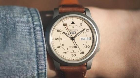 3 mẫu đồng hồ Seiko Automatic 23 jewels hot nhất hiện nay