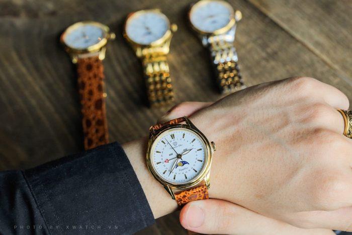 3 mẫu đồng hồ OP mạ vàng quý ông khao khát sở hữu