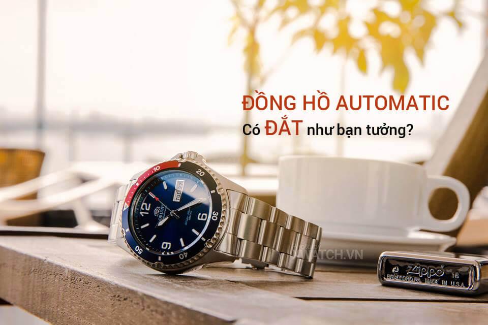 Giá đồng hồ Automatic nam không đắt như bạn tưởng!
