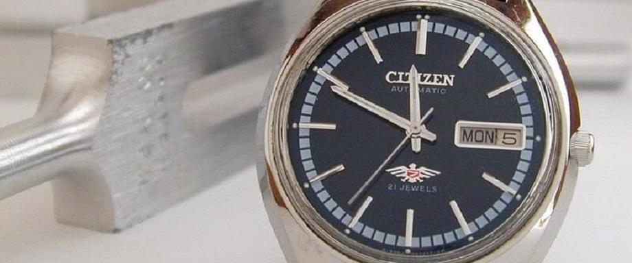 Tất tần tật về đồng hồ Citizen automatic chính hãng 21 jewels