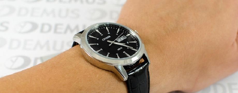 Bắt bài 3 phong cách điển hình của đồng hồ Citizen dây da nam
