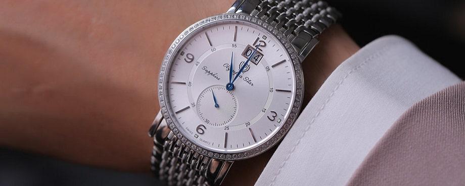 4 mẫu đồng hồ nam Sapphire lịch lãm đến từ Olympia Star