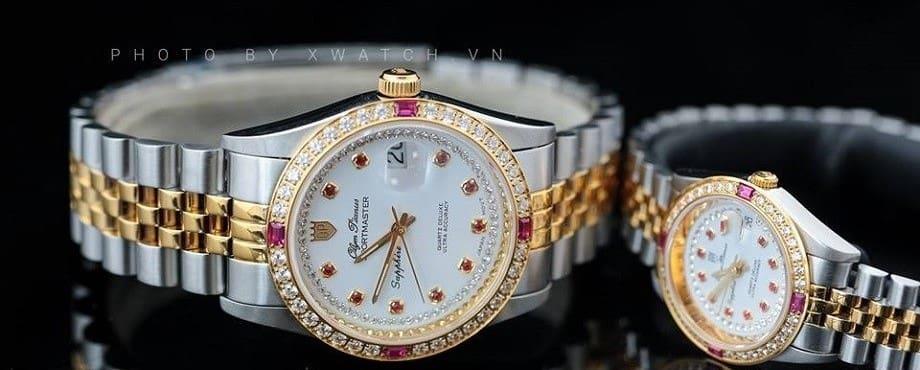 4 mẫu đồng hồ quartz nữ OP cho nàng thêm quyến rũ