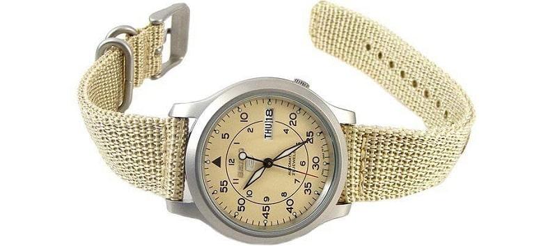 Đồng hồ nam Seiko 5 Quân Đội - Đơn giản mà tinh tế