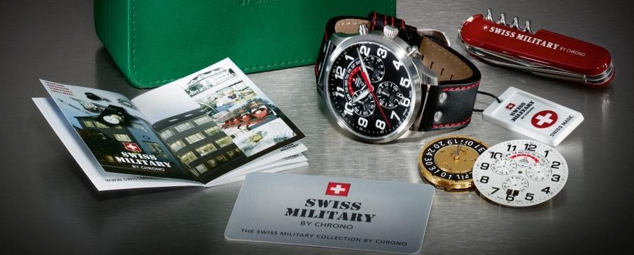 Đồng hồ quân đội Thụy Sĩ - Sự lựa chọn không thể bỏ qua