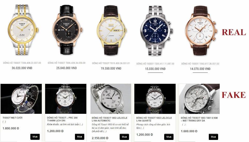 Cảnh báo! Chiếc đồng hồ bạn đang đeo có thể là GIẢ!