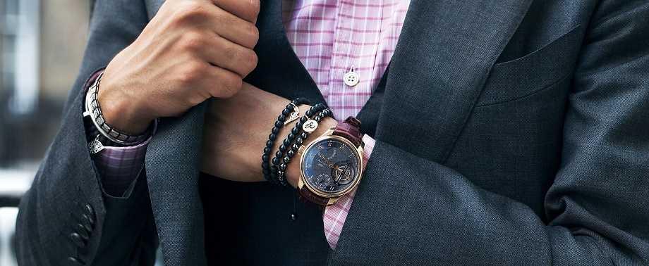 Mẹo nhỏ giúp bạn kết hợp đồng hồ thời trang nam với phụ kiện
