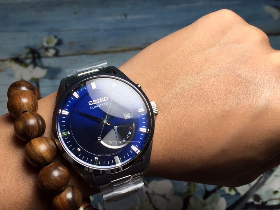 3 mẫu đồng hồ Seiko Kinetic hot nhất năm 2019